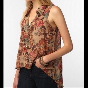 Urban Outfitters Pins and Needles Sleeveless top
